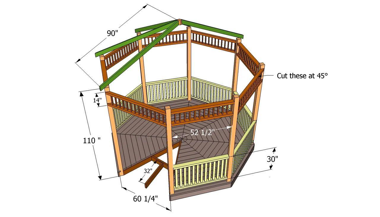 Bamboo gazebo deck plans - Bamboo Gazebo Deck Plans Bamboo Gazebo Deck Plans Free Gazebo Plans Download