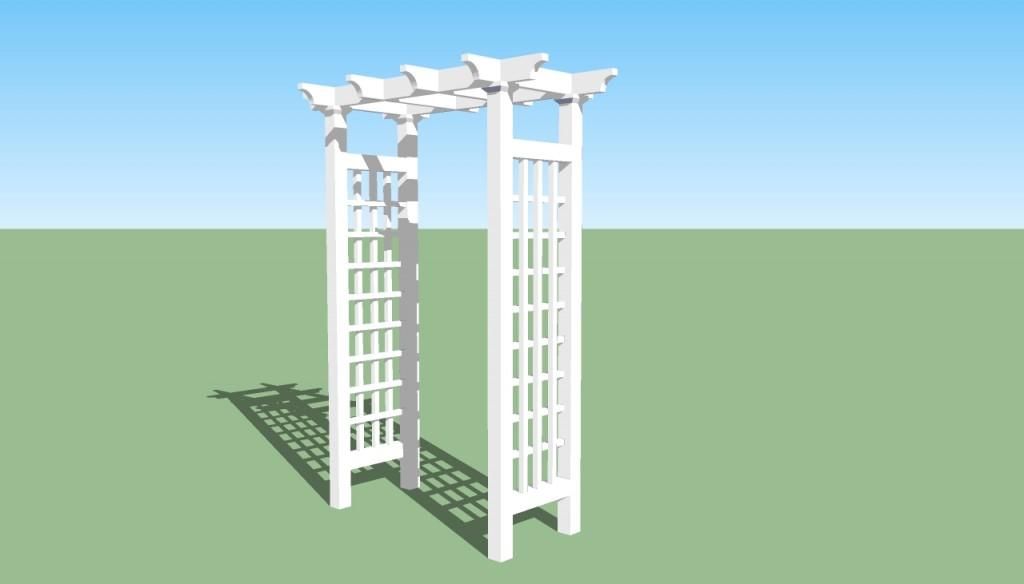 Pergola design HowToSpecialist - How to Build, Step by Step DIY - garden arbor plans designs