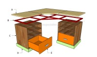 How to build a corner desk | HowToSpecialist - How to ...