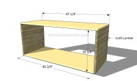 Woodwork How To Build A Tv Stand PDF Plans