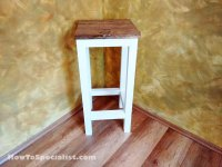 How to build a wood bar stool   HowToSpecialist - How to ...