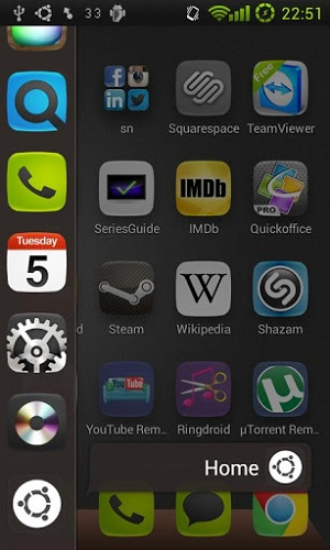 Download Ubuntu Phone Launcher for Android to Experience Ubuntu OS