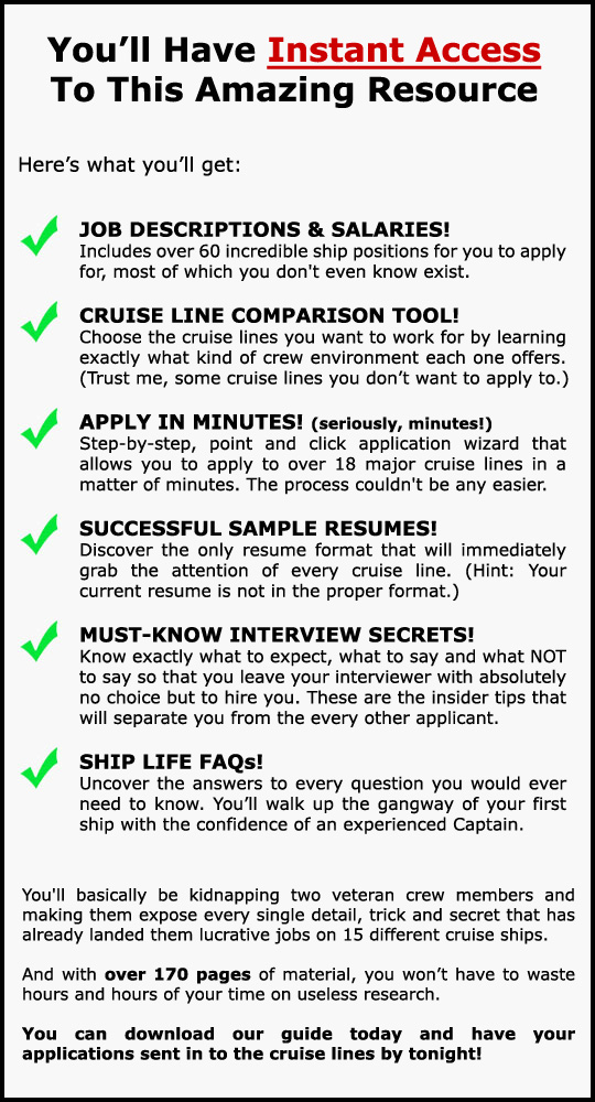 home howtoworkonacruise howtoworkonacruise cruise ship security officer sample resume - Cruise Ship Security Officer Sample Resume