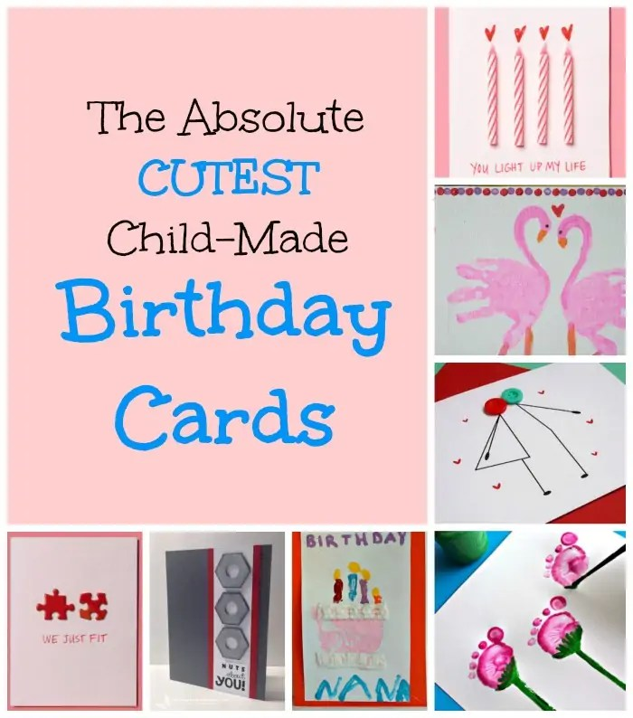 Homemade Birthday Cards for Kids to Create Homemade birthday - birthday card format for word