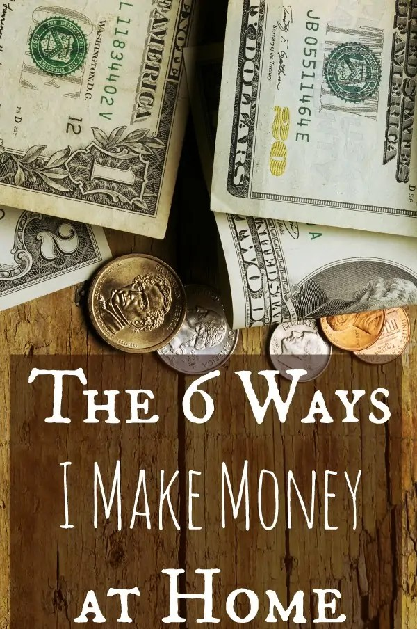 The 6 Ways I make money from Home - How Wee Learn