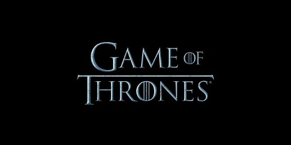 Black Wolf Wallpaper Game Of Thrones Got Logo 600 215 300