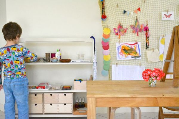 What39s On Our Art Shelves Link Up How We Montessori