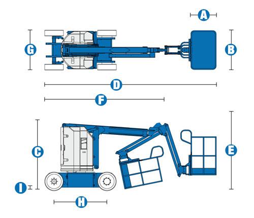 GENIE-Z3020N-Smal-batteri-selvgoende-bomlift-11m