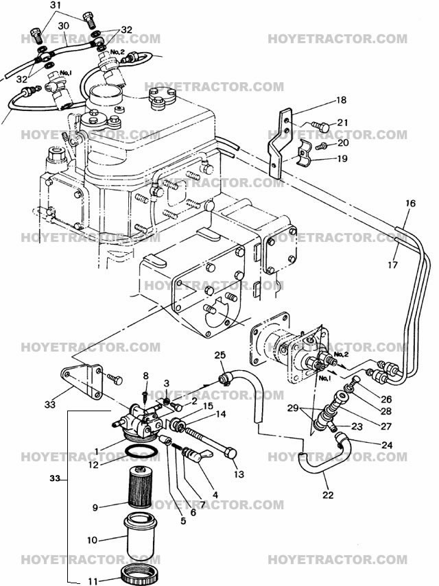 yanmar 1gm10 engine diagram