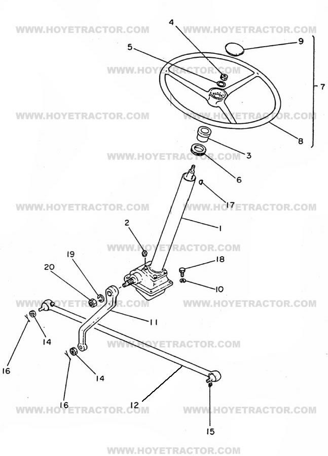 Yanmar Ym 1700 Tractor Wiring Diagram Wiring Schematic Diagram