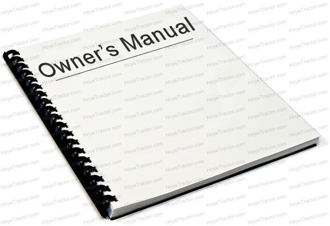Yanmar Operation Manual Yanmar Tractor Parts - operation manual