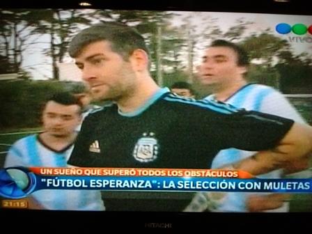 Damián Defelippe en Telefe Noticias (video)