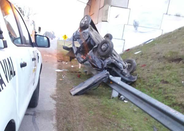 Impactante accidente en la Ruta 5