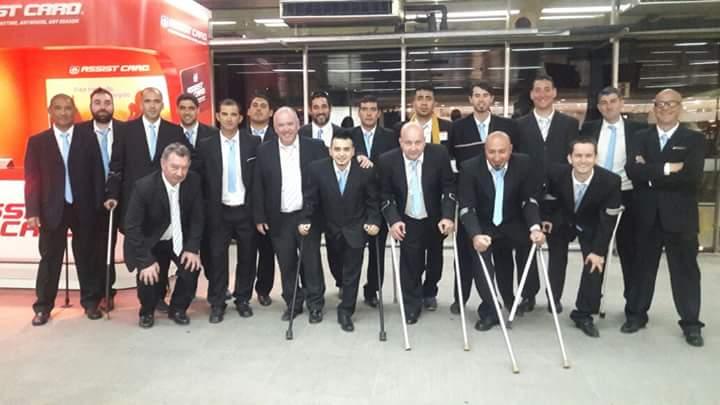 Damián Defelippe ya está en Colombia para jugar la Copa Confederaciones