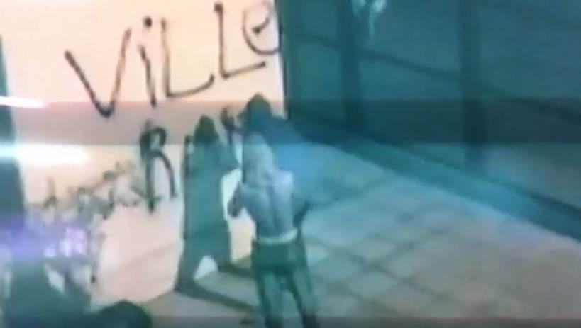 Vandalismo en institución educativa queda filmado y se espera accionar de la justicia