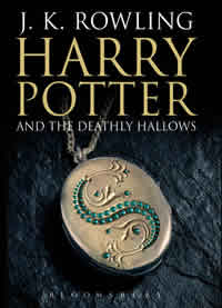 Harry Potter and the Deathly Hallows, UK adult cover