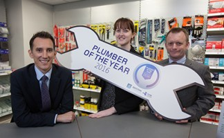 Organisers of Plumber of the Year promote this year's competition.