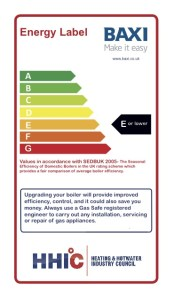 Baxi will work with heating engineers to help them adopt the new Retro Boiler labelling scheme