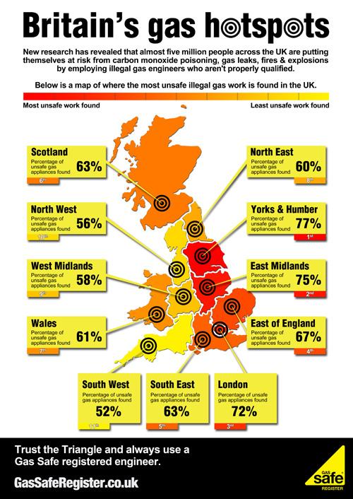 Britan's unsafe gas hotspots
