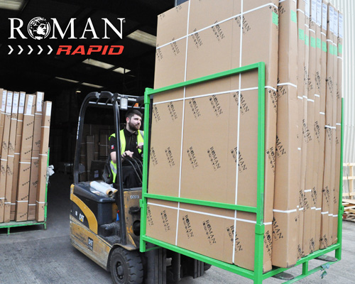 Roman's New Warehouse for Roman Rapid