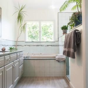 Modern bathroom renovation, Little Falls, NJ