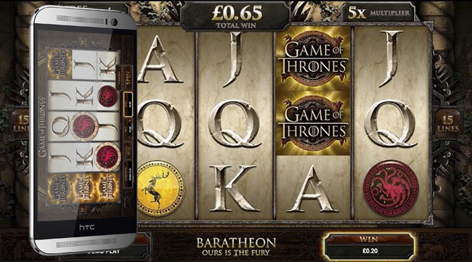 gamep of thrones pokies htc