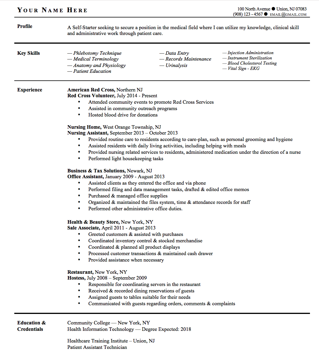 resume objective entry level healthcare professional resume resume objective entry level healthcare entry level police officer resume objective examples important resume tips for
