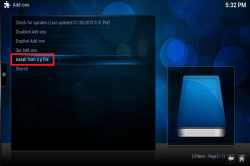 Now browse to the location and choose plugin.video.ntv-3.4.4.zip (or ...