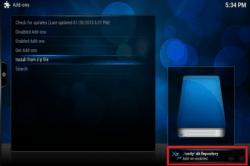Install NTV Kodi XBMC Plugin Screenshot Guide