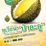 The Durian Pa-La-U Forest Festival