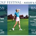 2014 GOLF FESTIVAL at Banyan Golf Club, Hua Hin