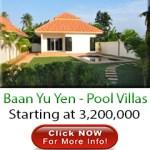 Baan Yu Yen – Pool Villas