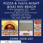 Pasta Night @ Sanae Beach Club