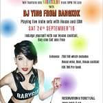 DJ Y from Bangkok @ Red Piano