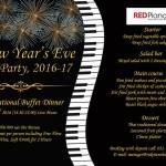 New Years at Red Piano Restaurant