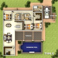 Type C Orchid Palm Homes Villa For sale in Hua Hin