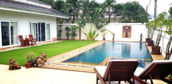 House For Rent with swimming pool in Hua Hin (9)