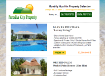 Hua Hin Property and Real Estate Newsletter