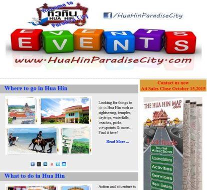 Hua Hin Paradise City October Newsletter
