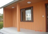 CE ISO UPVC Wall Panels / Grain Interior Wall Paneling For ...