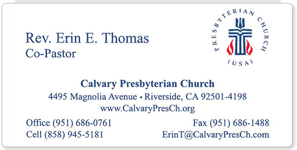 The Hubbard Press Business Cards