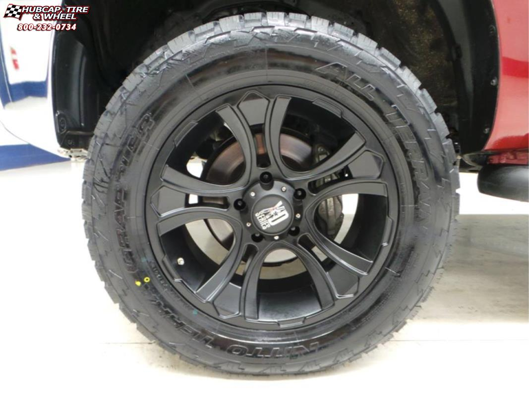 2010 Toyota Tundra Xd Series Xd801 Crank Wheels Matte Black
