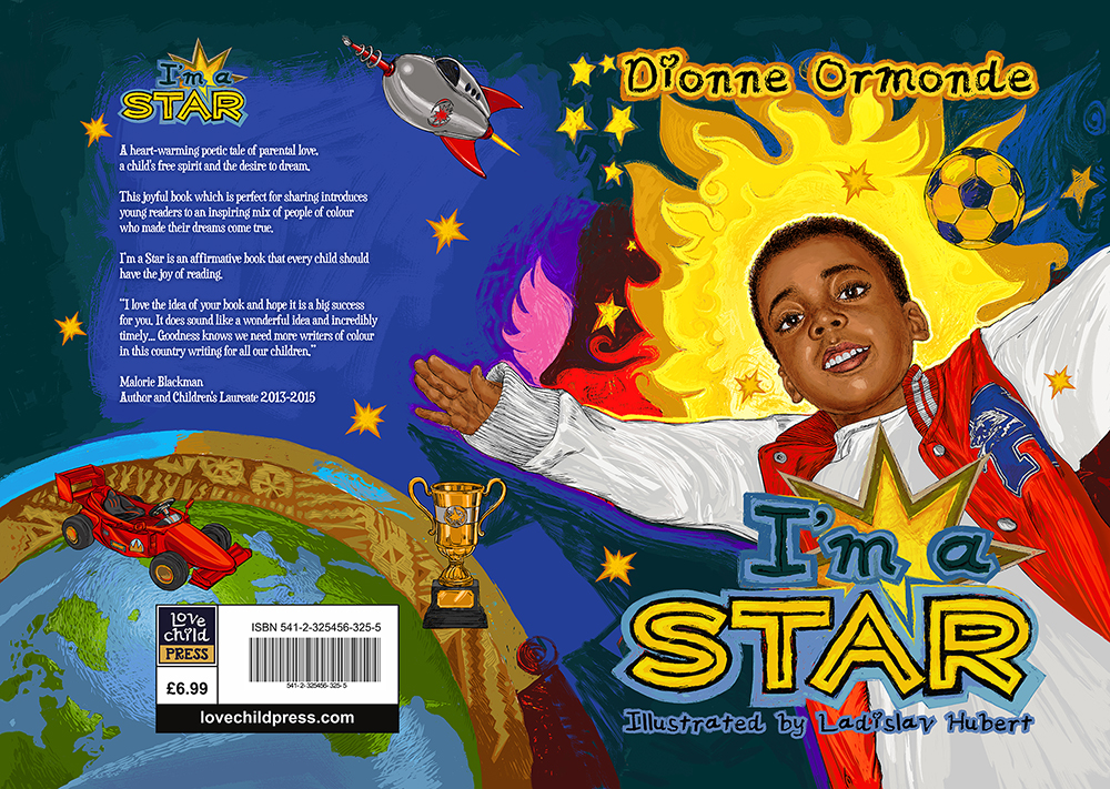 Children S Book Front Cover ~ I m a star childrens illustrations