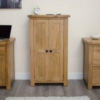 Original rustic shoe storage cabinet cupboard unit solid ...