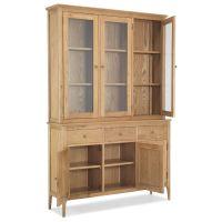Ferndale solid oak furniture large cutlery china dresser ...