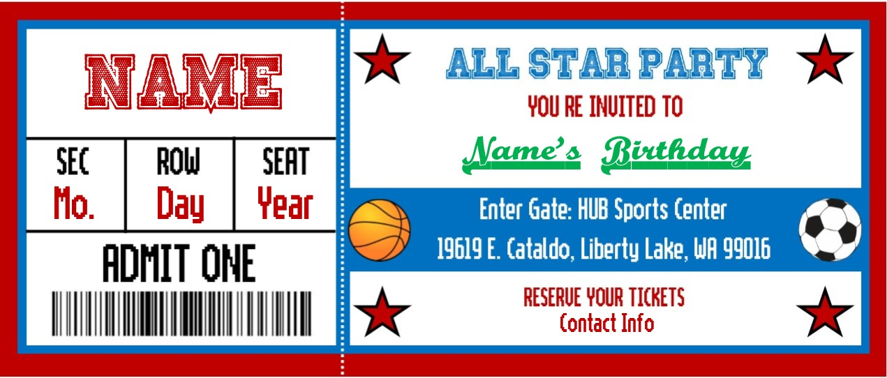 Need a FUN place for a Party? - Hub Sports Center