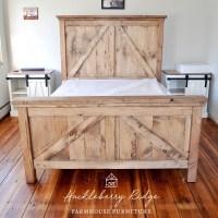 Barn Door Bed