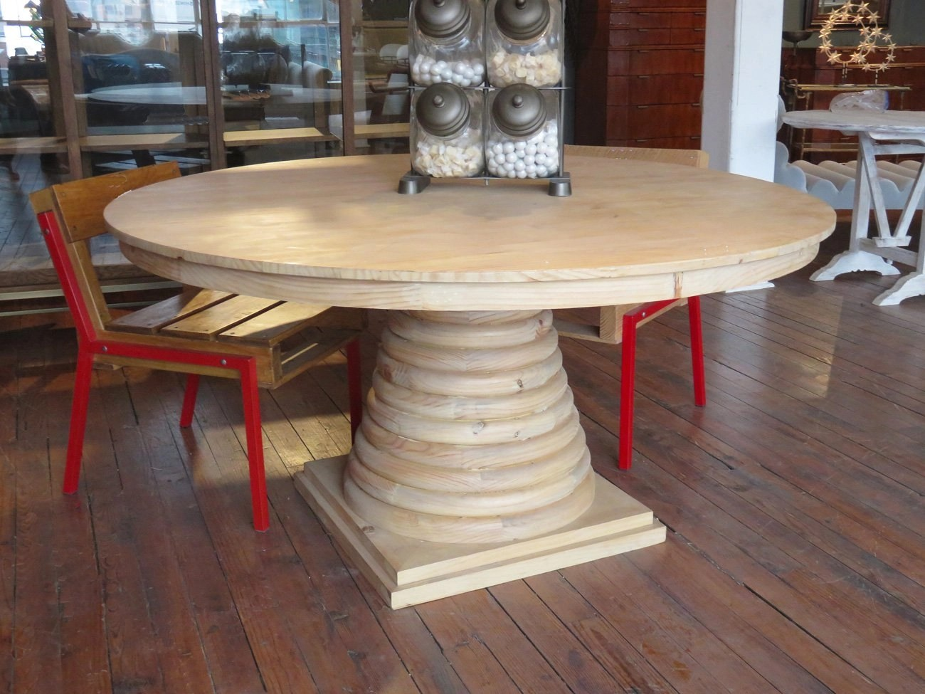 Round Solid Wood Dining Table Hudson Goods Blog