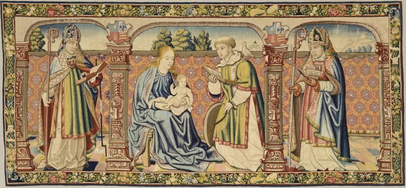El tapiz de Roda La Virgen y el Niño