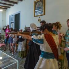 Visita al Palacio de Valdeolivos de Fonz. Fotos: Alejandro Lansac